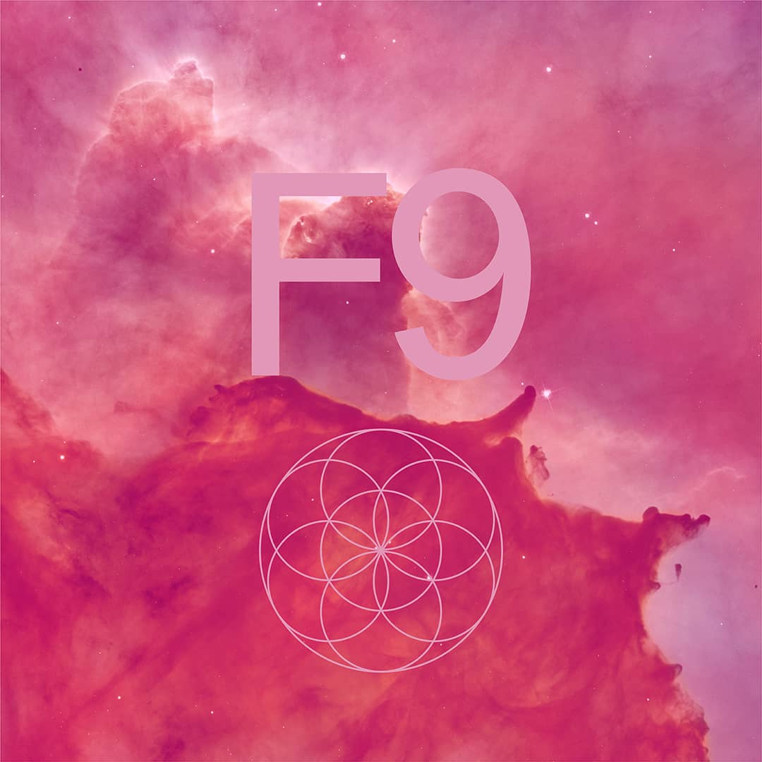 "background pattern with ""F9"""